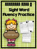Journeys Sight Word Activities & Fluency Practice Kindergarten Unit 4
