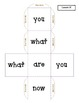 Sight Word Dice