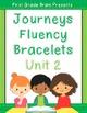Journeys Sight Word Fluency Bracelets Bundle - 1st Grade Units 1-6