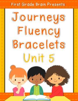 Journeys Sight Word Fluency Bracelets - works with Unit 5 1st Grade