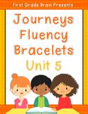 Journeys Sight Word Fluency Bracelets - works with Unit 5