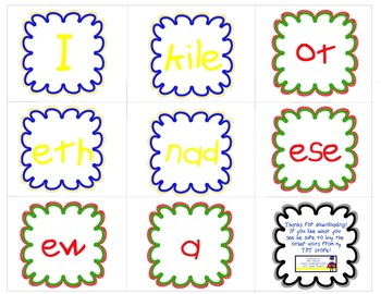Journeys Sight Word QR Code Scramble: Kindergarten Units 1 & 2