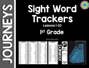 journeys sight word tracker first grade by dot to dot polka dot
