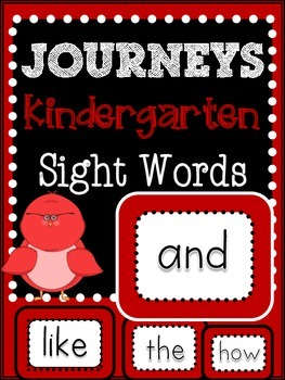 Journeys Sight Words