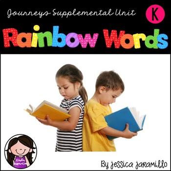 Journeys Sight Words Supplemental Resource