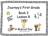 Journey's Slides, First Grade, Book 2, Lesson 8, A Musical Day