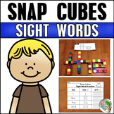 Journeys Snap Cube Sight Words Kindergarten Units 1-6