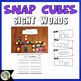 Journeys Snap Cube Sight Words Kindergarten Units 1-6