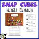 Snap Cube Sight Words (Journeys Sight Words Kindergarten Units 1-6 Supplement)