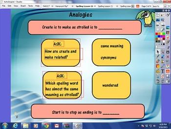 Journeys Spelling Activities Unit 4 Lessons 16-21
