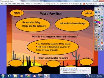 Journeys Spelling Activities Unit 5 Lessons 21-25