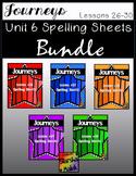 Journeys Spelling Bundle Unit 6