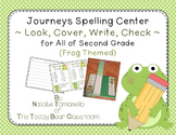 Journeys Spelling Center - Look, Cover, Write, Check (Frog