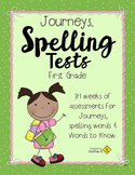 Journeys Spelling First Grade, Complete Year, with Handwri