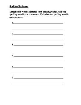 Journeys Spelling Homework Lesson 7