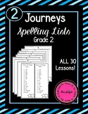 Journeys Spelling Lists Grade 2