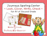 Journeys Spelling - Look, Cover, Write, Check - Second Grade