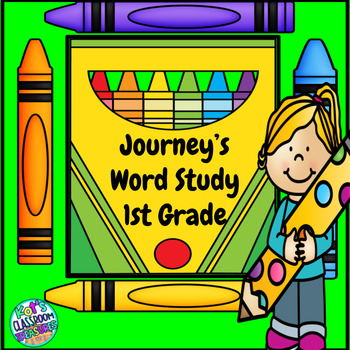 Journey's Spelling Packet with Fry HFW activities