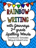 Journeys Spelling Rainbow Write 2nd Grade BILINGUAL
