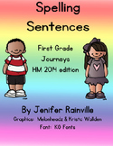 Journeys Spelling: Sentences