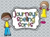 Journeys Spelling Sorts