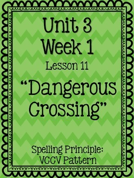 """Journeys"" Spelling Tests - 5th Grade, Unit 3"