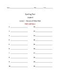 Journeys Spelling Tests Grade 4
