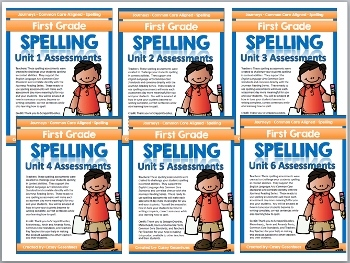 Journeys Spelling Tests (Unit 1-6 Bundle)