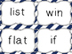 Journeys Spelling Word Cards, 2nd Grade Stripes