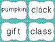 Journeys Spelling Word Cards, 3rd Grade Dots