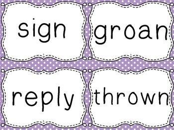 Journeys Spelling Word Cards, 5th Grade Dots