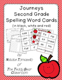 Journeys Spelling Word Cards - Second Grade