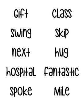 Journey's Spelling Word Labels - Grade 3 - Units 1 - 6