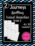Journeys Spelling Word Searches Grade 2