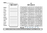 Journeys Spelling Word Searches and ABC Order Grade 2 Set 5
