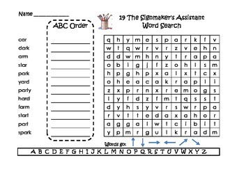 Journeys Spelling Word Searches and ABC Order Grade 2 Week 19 & 20