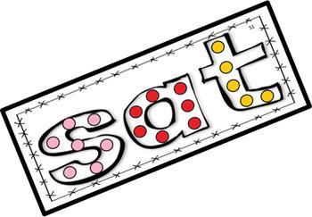 Journeys Spelling Words Dot Art Lessons 1 - 10 (First Grade)