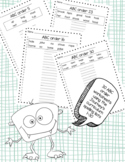 Journeys Spelling practice ABC order worksheets