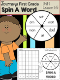 Journeys Spin a Word - Unit 1