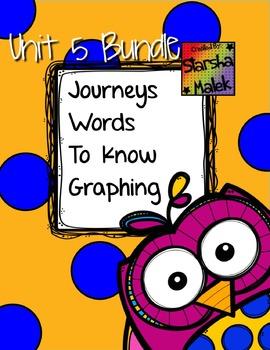 Journeys Spot The Word Graphing Bundle Unit 5