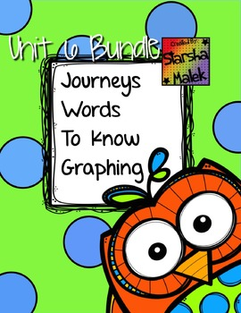 Journey's Spot the Word Graphing Bundle 6