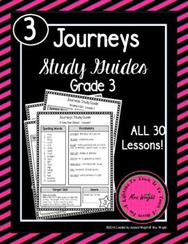 Journeys Study Guides Grade 3