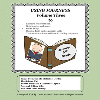 Journeys Study Guides Volume 3.