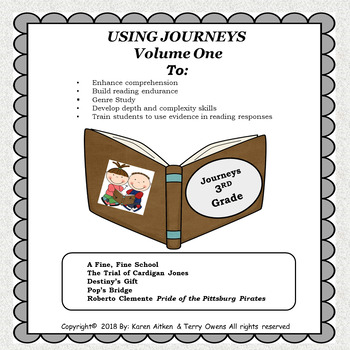 Journeys Study Guides and Review Sheets  Volume 1