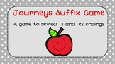 Journeys Suffix Game