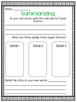 Journeys Super Storms Grade 2 {Editable}