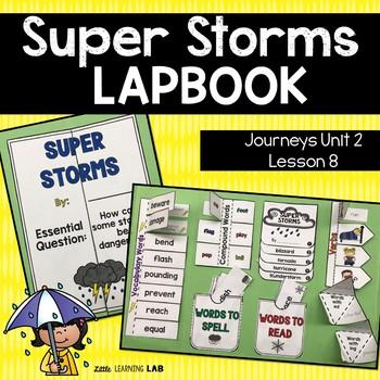 Journeys Super Storms Lapbook