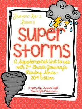 Journeys- Super Storms Supplemental Unit {Unit 2: Lesson 8}
