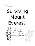 Journeys- Surviving Mt. Everest Critical Writing Activity