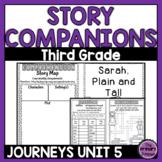 Journeys THIRD Grade Story Companions:  Unit FIVE